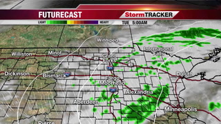 Monday Afternoon Forecast: Scattered Showers