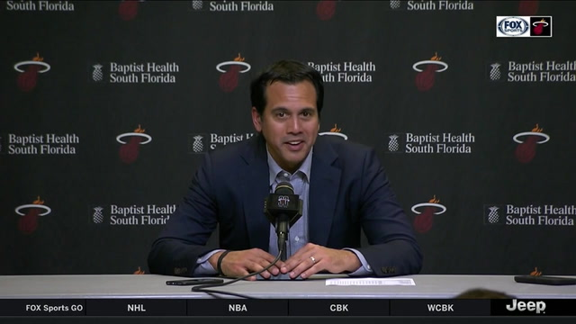 Spoelstra expects Olynyk to take more shots while on the floor