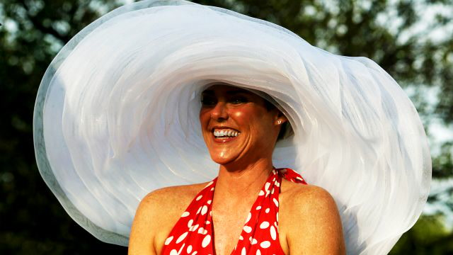 Kentucky Derby Fashion is All About Big, Bold, Over-The-Top Hats