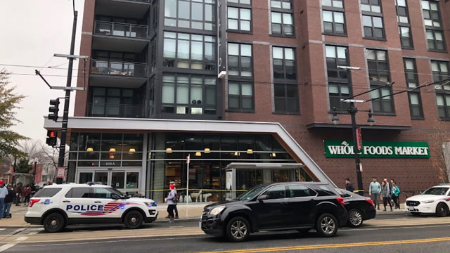 Shooting reported inside D.C. Whole Foods Market