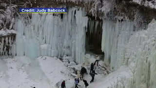Ice Cave Breaks Apart Injures People