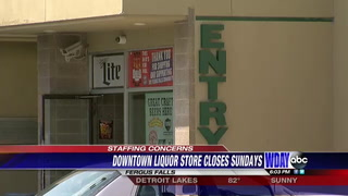 Fergus Falls liquor store to close on Sundays