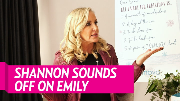 Shannon Beador Says 'RHOC' Costar Emily Simpson Needs to 'Focus on Her Own Life'