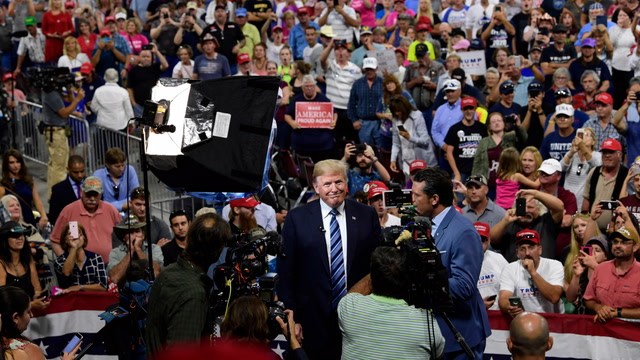Anatomy of a Trump rally: 69 percent of claims are false, misleading or lacking evidence