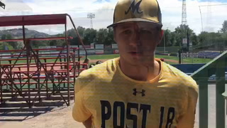 Jed Schmidt earns the win as Post 18 advances in state tourney