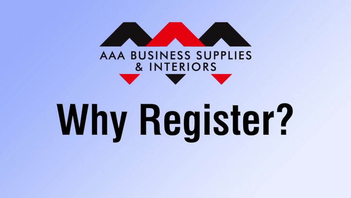 Why Register? | shop.AAAsolutions.com