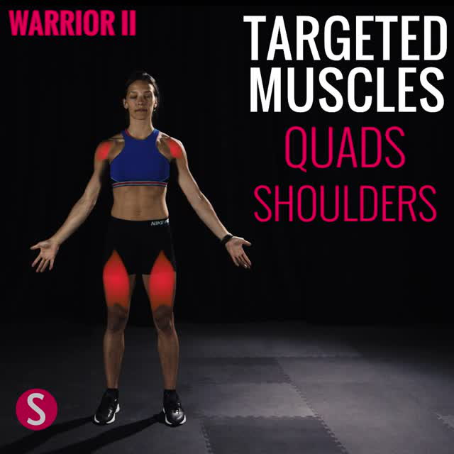 Moves and Muscles: Warrior 2