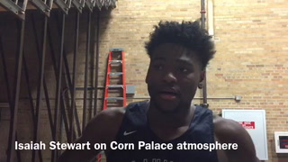 Isaiah Stewart interview
