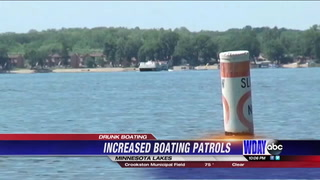 Increased patrol on the lakes