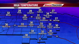 Mild Tomorrow, Snow and Cold To Follow