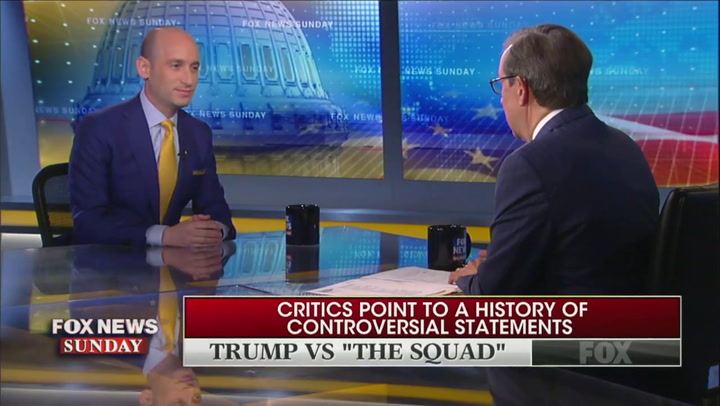Fox's Chris Wallace Confronts WH Adviser Stephen Miller: 'No Question' Trump's 'Stoking Racial Divisions'