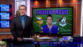Detroit Lakes is all in on Adam Thielen