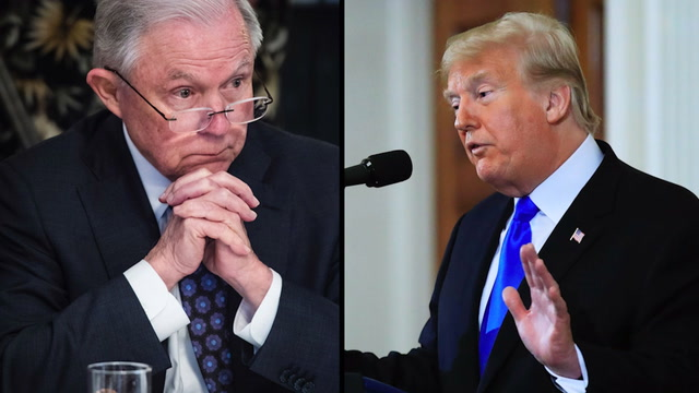 5 times Trump attacked Sessions