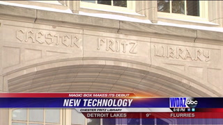 New technology makes debut at Chester Fritz Library