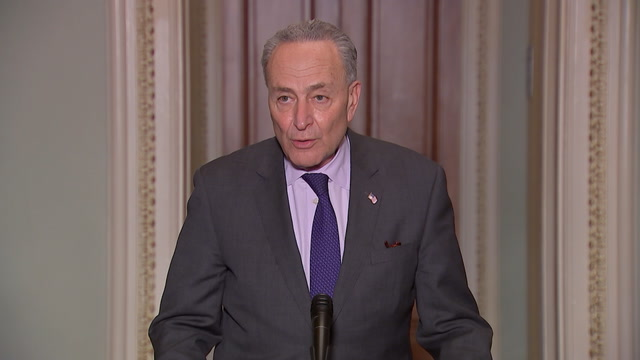 Schumer lists three concerns about confirming Barr