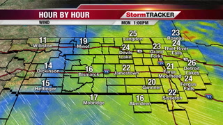 StormTRACKER Weather Webcast Monday Midday
