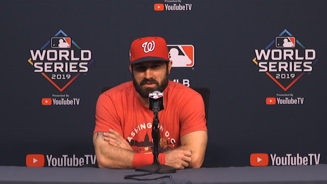 Nats outfielder Adam Eaton on Max Scherzer: 'If that guy can go out there, he's going to go'