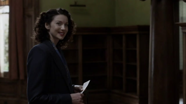Caitriona Balfe's fan encounter in changing room