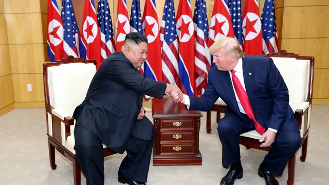 Trump thanks Kim for 'honor' of being invited into North Korea