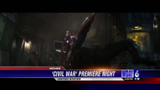 Superheroes hit the big screen in 'Civil War' premiere tonight