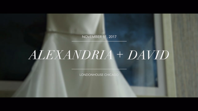 Alexandria + David | Chicago, Illinois | LondonHouse Chicago