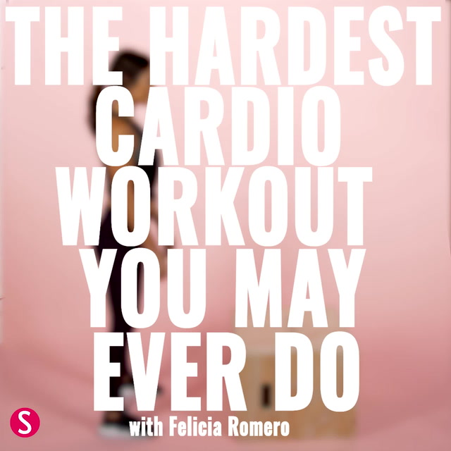 The Hardest Cardio Workout You May Ever Do
