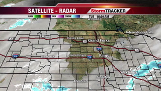 StormTRACKER Weather: Chance for Light Snow Wednesday