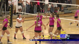 High School Volleyball: Northern Cass sweeps May-Port-C-G