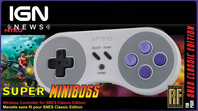 SNES Classic Edition Wireless Controller Announced by Nyko - IGN News