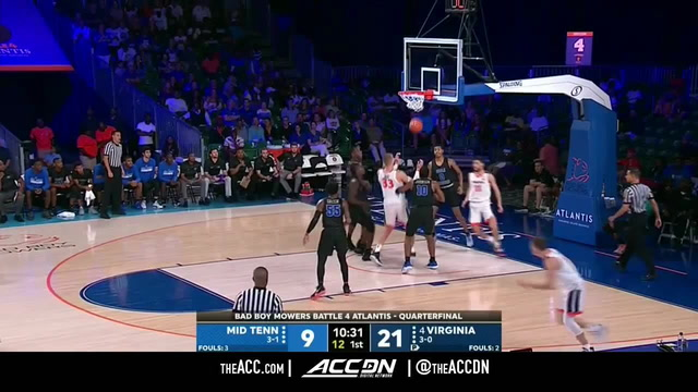 Middle Tennessee vs. Virginia Basketball Highlights (2018-19)