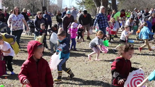Easter Egg Hunt at Gregory Park