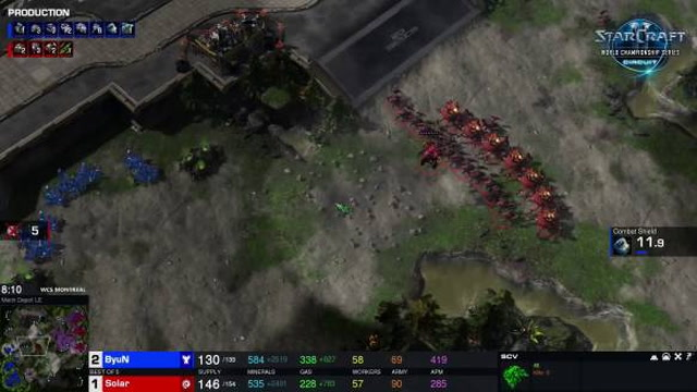 ByuN vs. Solar - Game 4 - Gauntlet Premiere 2