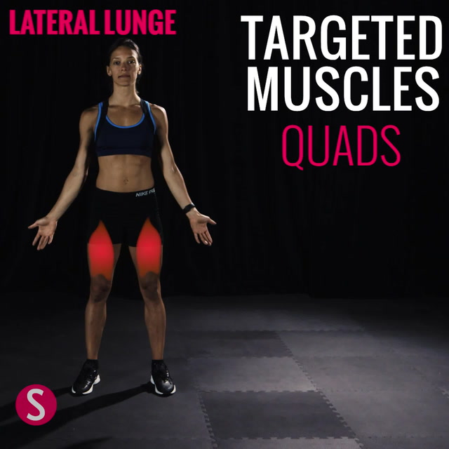 Moves and Muscles: Lateral Lunge