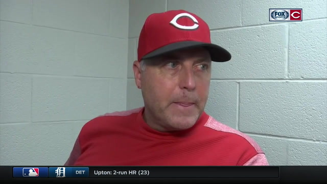 Bryan Price discusses his decision on who pitched in the 8th and why
