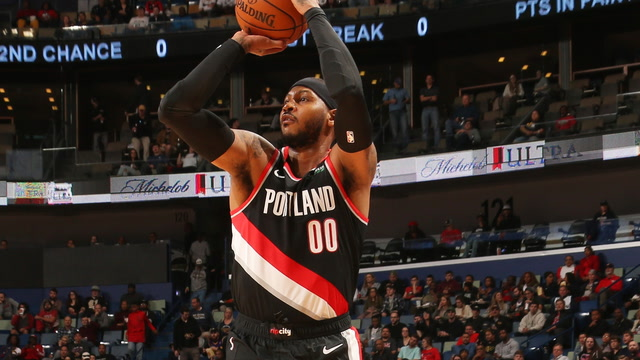 Analyzing Carmelo Anthony's Debut With the Trail Blazers