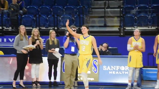 Mitchell native Macy Miller becomes SDSU's all-time leading scorer