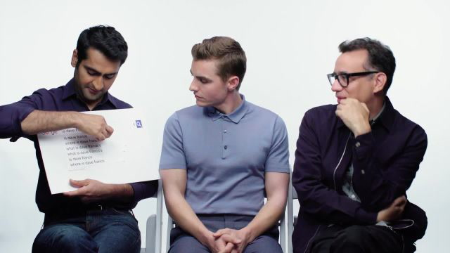 Dave Franco, Kumail Nanjiani, and Fred Armisen Answer the Web's Most Searched Questions