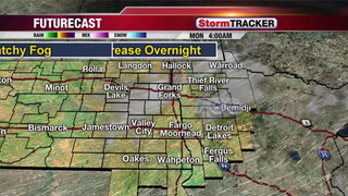 Partly Cloudy and Mild Monday