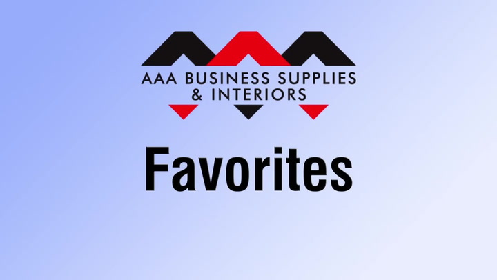Favorites at shop.AAAsolutions.com