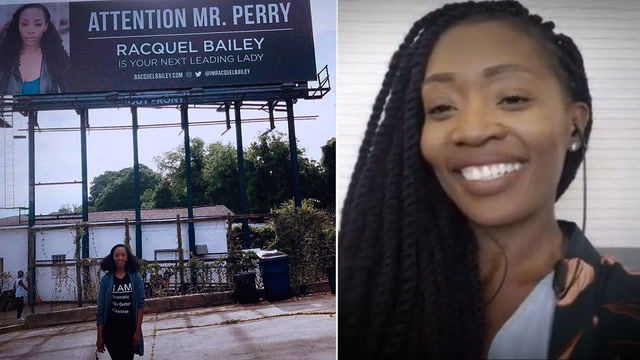 This actor got Tyler Perry's attention with a billboard. Here's why it worked.