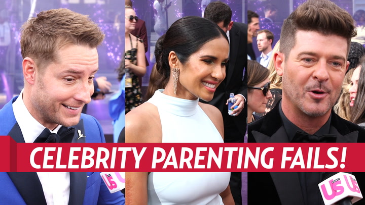 Justin Hartley and More Celebrities Share Parenting Fails on Emmys 2019 Red Carpet