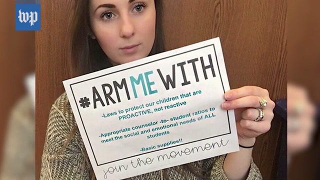 #ArmMeWith: Teachers respond to Trump with viral campaign