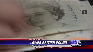 British pound some of the lowest its been