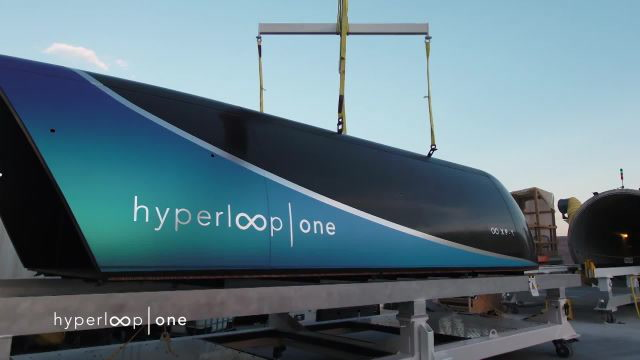 Watch the Hyperloop Complete Its First Successful Test Ride