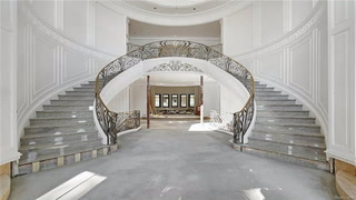 View the Echoing Expanses of the Unfinished Mansion That Is Michigan's Most Expensive