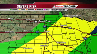 Strong/Severe Storms This Afternoon/Evening