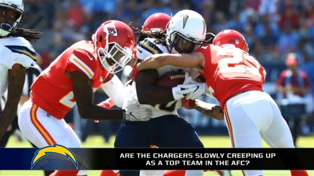 Are the Chargers Slowly Creeping up as a Top Team in the AFC?