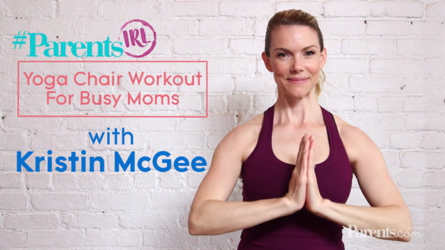 Yoga Chair Workout For Busy Moms