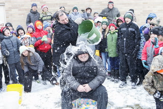 "MAES' Shane Monson ""winner"" of Principal Plunge"