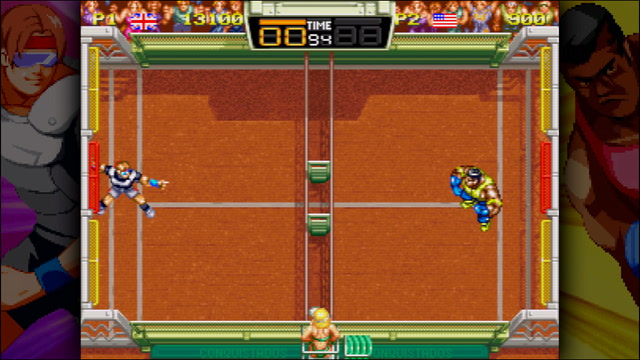 A Full Match of Windjammers